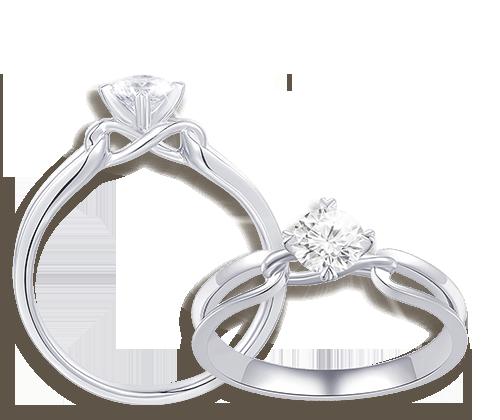 珍貴的天然鑽石代表一生的愛與守護。The Leo Diamond爲您帶來多款極致閃爍的求婚鑽戒,當中最受歡迎的Infinity心型戒托,象徵您倆的幸福未來,更閃、更美。
